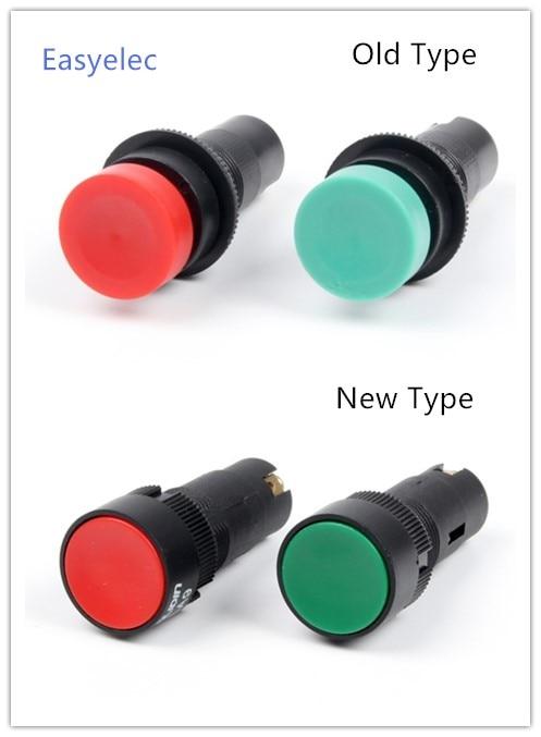 LA9 16mm botón interruptor momentáneo máquina rápido interruptor de botón