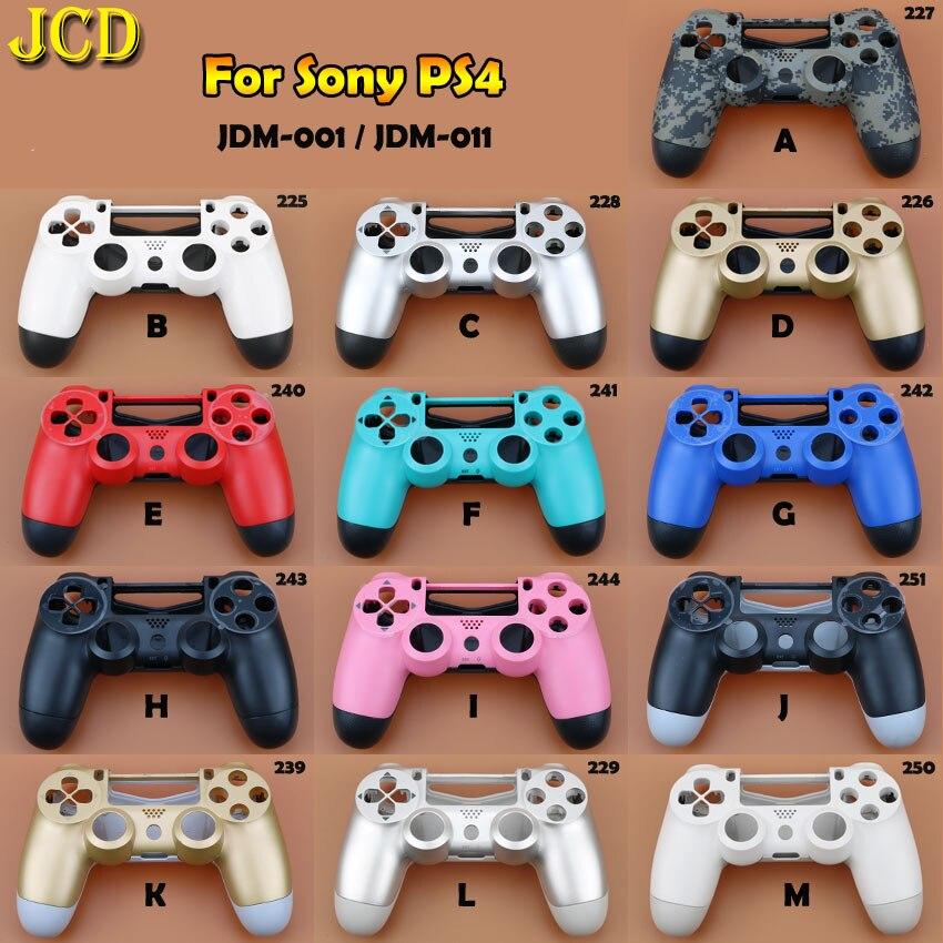 JCD 1 Uds carcasa de plástico duro para Sony Playstation 4 para PS4 JDM-010 controlador de JDM-001 carcasa funda protectora carcasa