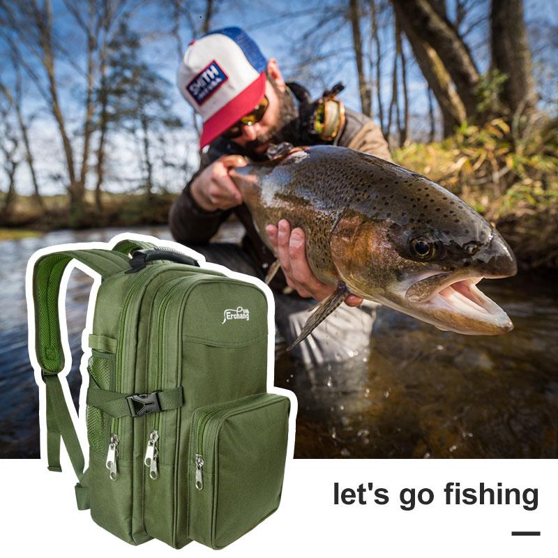 Mochila táctica Erchang 2019, mochila militar, mochila impermeable del ejército, para deportes al aire libre, para acampar, senderismo, pesca y caza, bolsa de 35L