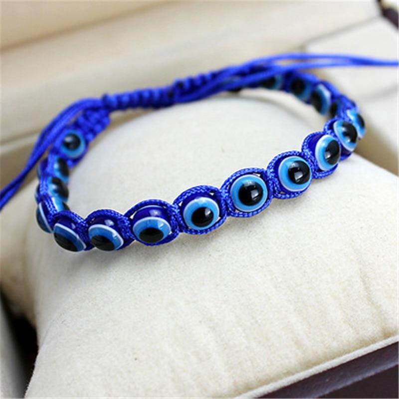 Chanceux kabbale rouge fil fil Hamsa Bracelets bleu turc mauvais œil charme pour femmes enfants filles à la main amitié bijoux