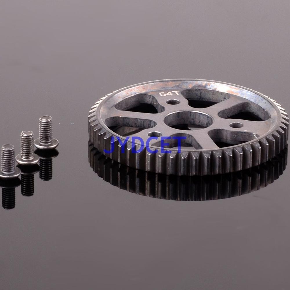 SSLA054T mise à niveau pièces en acier engrenage principal 54T pour RC-TRAXXAS modèle de voiture 1/10 Slash 4X4