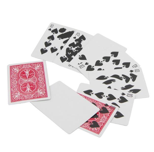 Venta al por mayor 50 set/lote rápida impresión truco tarjetas trucos de magia de mago accesorios para trucos ilusiones mentalismo