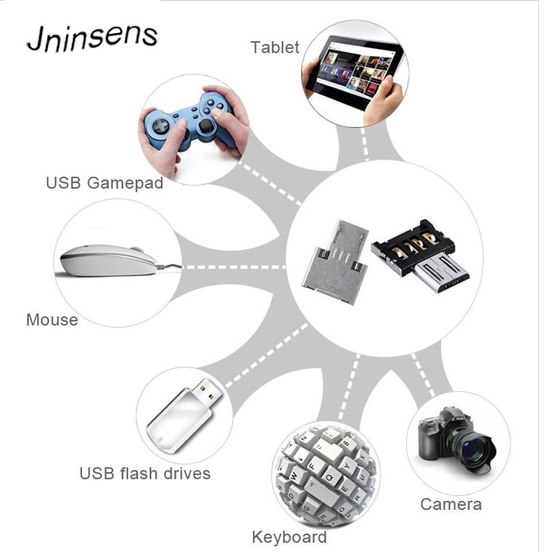 USB OTG Adaptador OTG MicroUSB conector Mini Adaptador de OTG para teléfono...