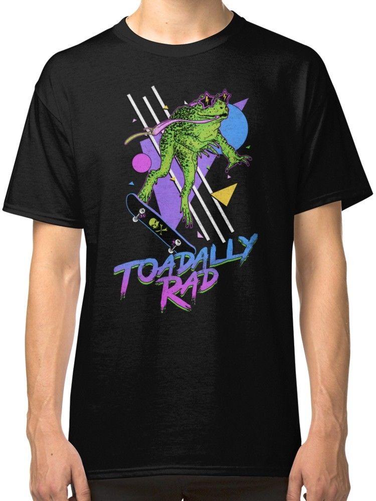 Toadally Rad hombres camiseta de ropa de dibujos animados t camisa de los hombres Unisex nueva moda tshirt suelto tamaño ajax 2018 divertido t camisas
