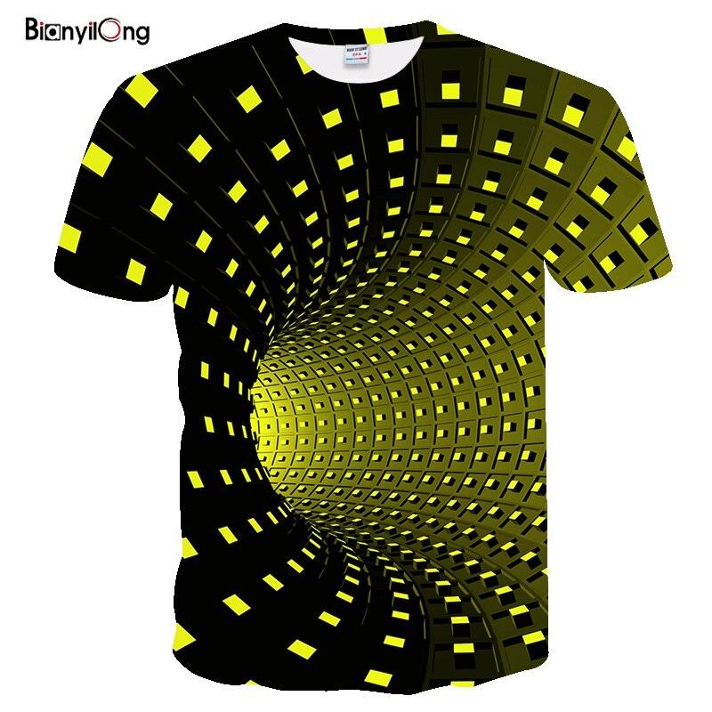 2019New Pure Geometry camiseta artística Tribal estampado 3D camiseta verano Moda Ropa Camisetas Chemise Camisas para Unisex mujeres hombres