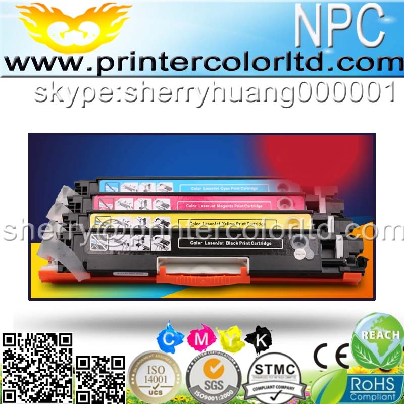 4 pces para ce310 ce310a-313a 126a 126 cartucho de toner de cor para hp laserjet pro cp1025 m275 100 cor mfp m175a m175nw impressora