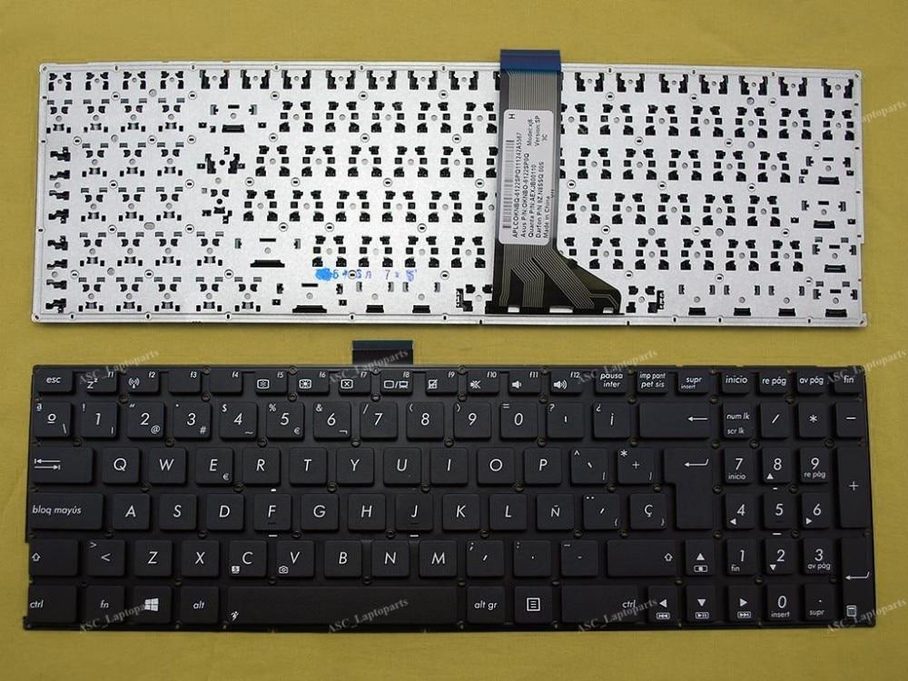 Großhandel new sp spanishteclado tastatur für asus fl5500l fl5600l tp550la tp550ld tp550lj laptop schwarz kein rahmen
