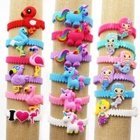 12pcslotcartoon animal bracelet birthday party offers gifts multi colored animal bracelet birthday party offers gifts for guest