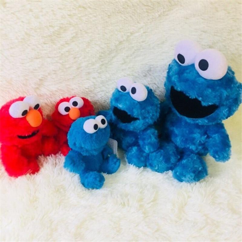 1 unids/lote de elmo cookie muñeca de juguete los niños juguetes de decoración de hogar Decoración del coche regalo de Navidad