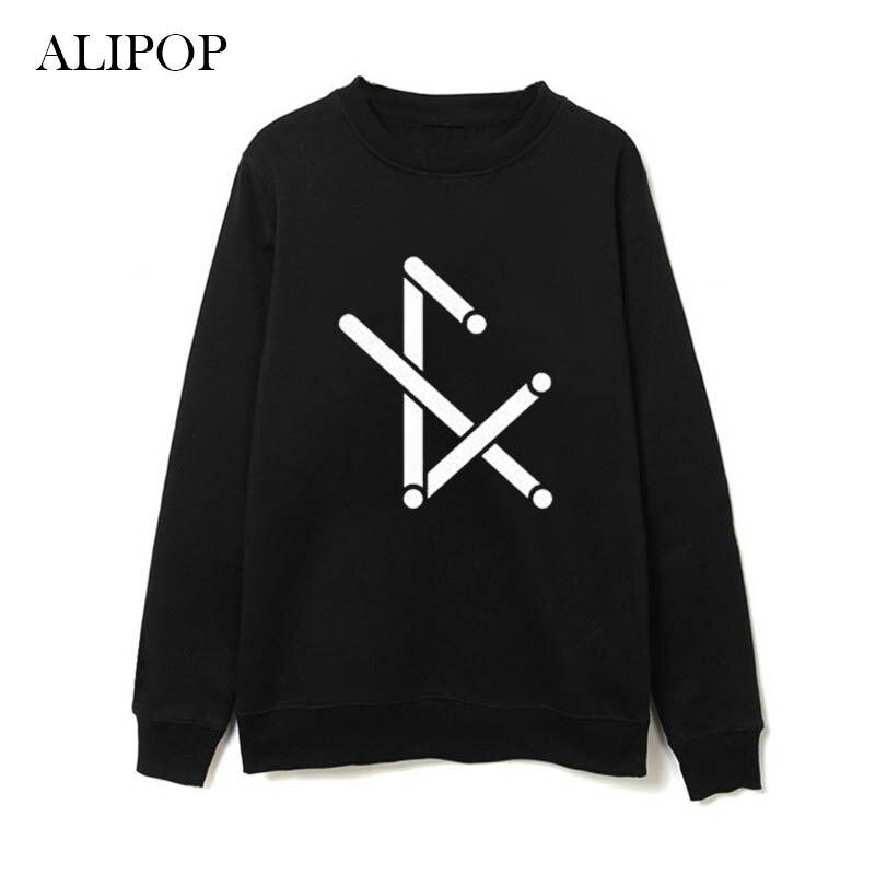 Youpop KPOP FX F(X) Krystal Album Hoodie K-POP Casual Cotton Hoodies Clothes Pullover Printed Long Sleeve Sweatshirts WY067