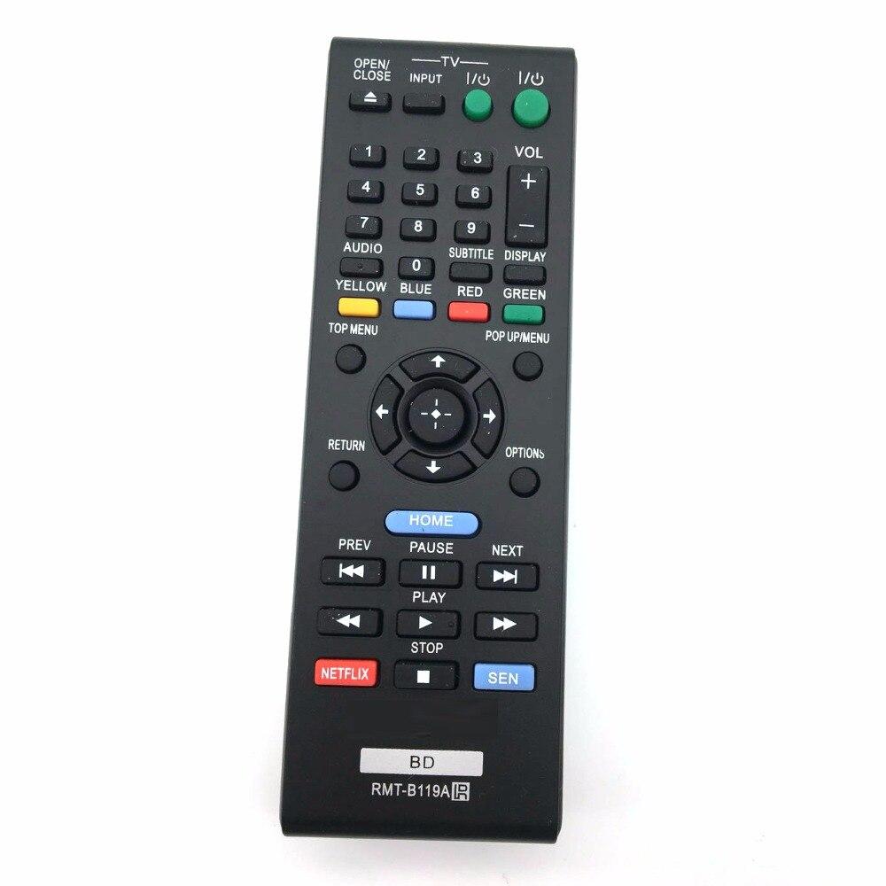 Control remoto para Sony RMT-B119A RMT-B118A RMT-B117A BDP-S790 Blu-ray reproductor de BD
