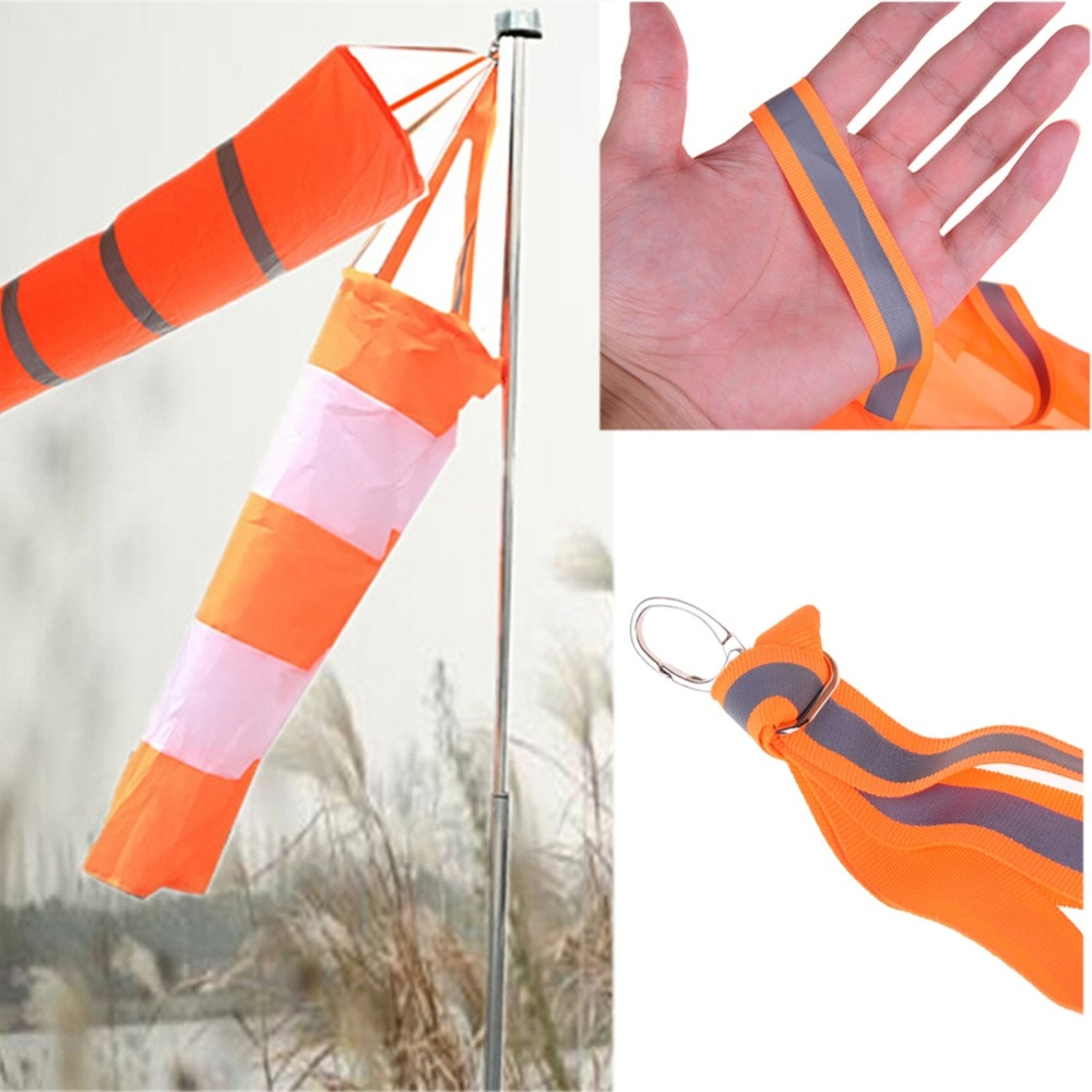 Muitos tamanhos para escolher meia de vento de nylon, meia-meia de brinquedo ao ar livre monitoramento do vento precisa indicador do vento