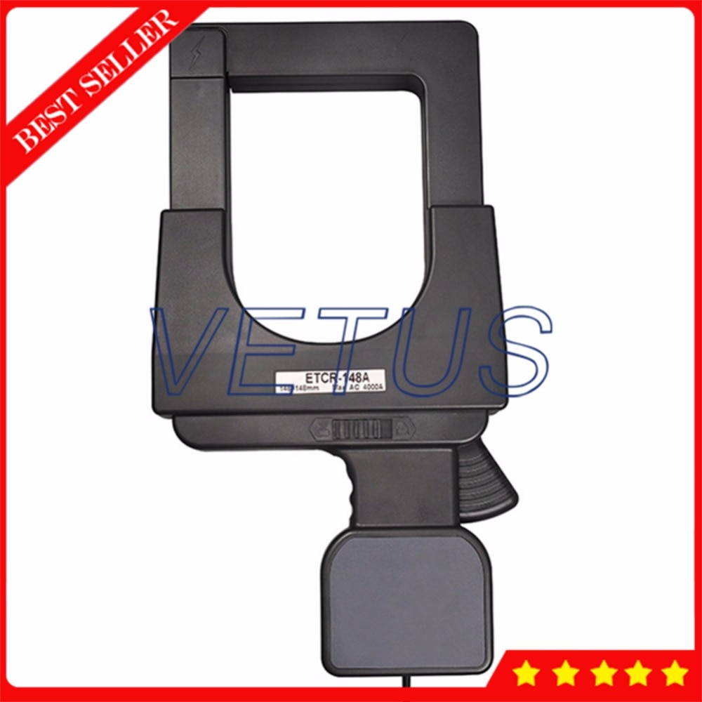 ETCR148A Clamp ammeter higher harmonic current meter of 108mm*148mm Super-large Caliber AC Current Sensor