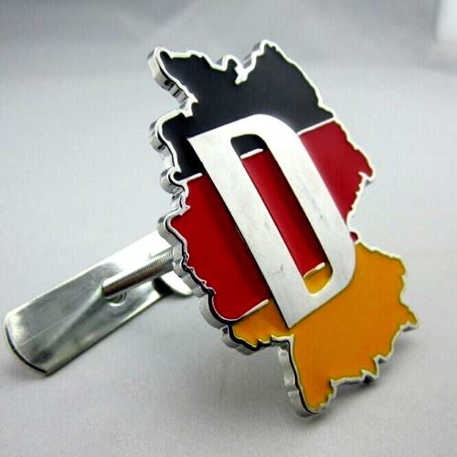 D Corrida Motorsport Alemanha Bandeira Da Alemanha Deutschland Grade Dianteira Emblema Etiqueta Trunk Decal para Volkswagen VW BENZ AUDI BMW BATER