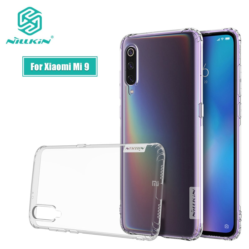 Para Xiaomi mi 9 SE Caso Invólucro 6.39 Nillkin Natureza Transparente Claro Suave Silicone TPU Capa para Xiaomi mi9 mi 9 SE Caso