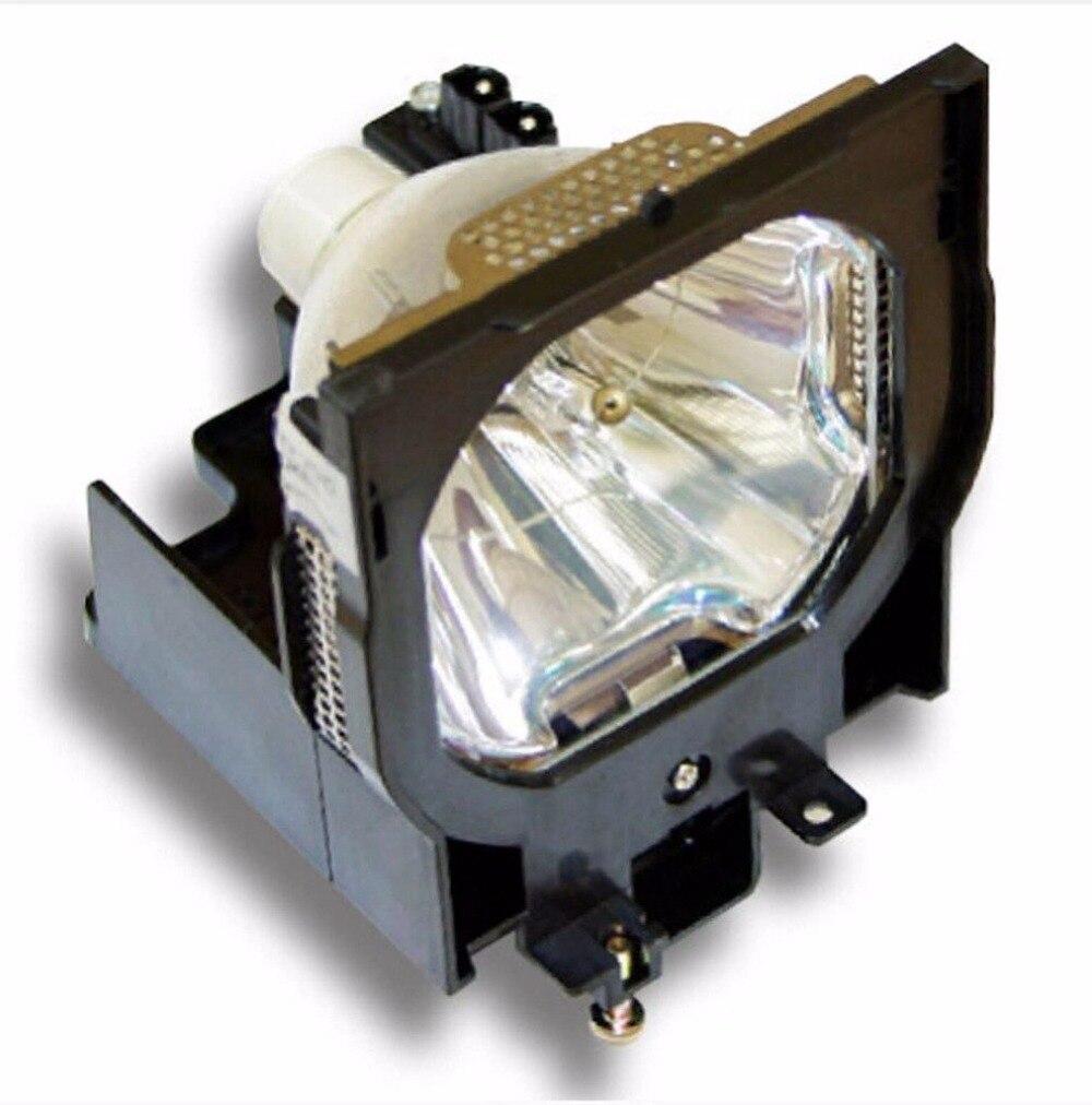 مصباح جهاز عرض احتياطي 03-000709-01P مع مبيت, لـ كريستي LU77 / LX100 / LX77
