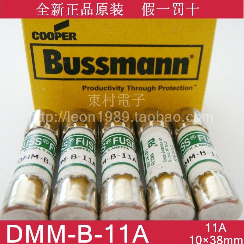 Fusíveis BUSS DMM-B-11A DMM-11A 1000VAC/DC