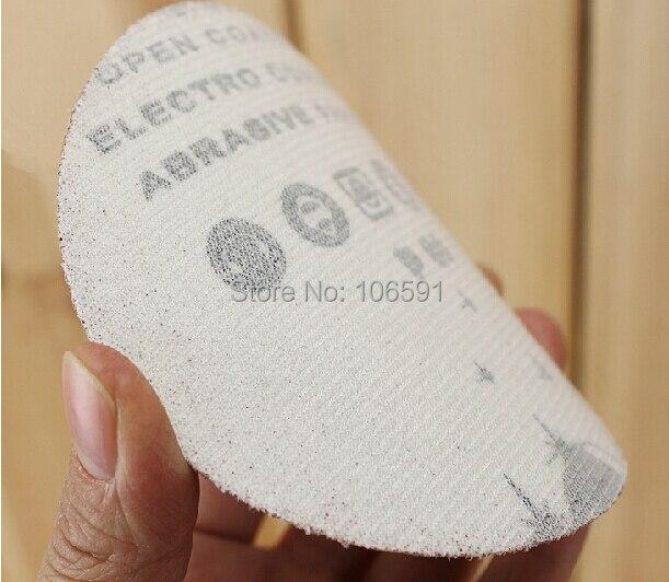 Brushed self-adhesive, round piece of sandpaper, polishing paper, flocking polished piece, 225mm/9INCH enlarge