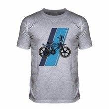 Manches courtes mode col rond t-shirt Bmx Wildcat 80S Cycle classique saleté Biker Sportser vélo Cool hommes t-shirt à capuche
