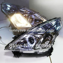 Teana Angel Eyes LED Head Lights for NISSAN 2008-11 V5 Type