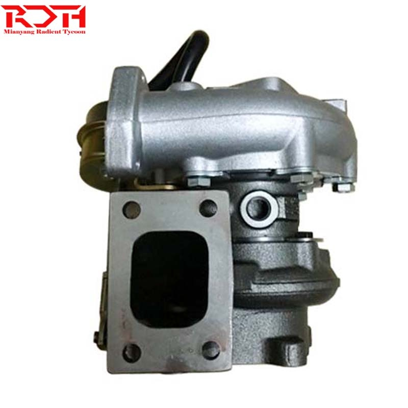 Turbocompresor oriental HT12-1C 047-267 1047267 047-076 1441131N06, turbocompresor para Hitachi con motor TD27T
