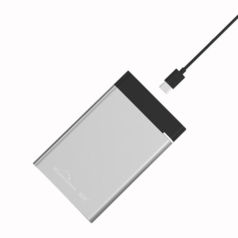 Tipo C USB 3,1 para Mac HDD 2,5 1 TB disco duro externo 1 TB 2 TB Dispositivo de almacenamiento disco duro portátil HD 1 TB USB 3,1 1 a 2