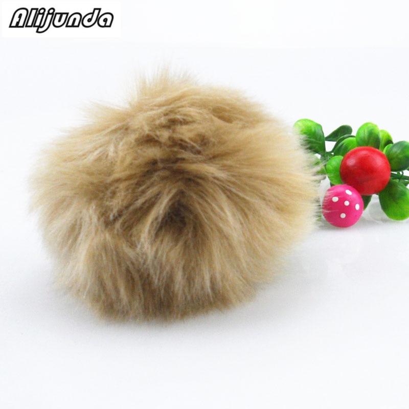 2018 simple hair ball plush toy pom-pom imitation rabbit plush keychain for Ford Focus Fusion Escort Kuga Ecosport Fiesta Falco
