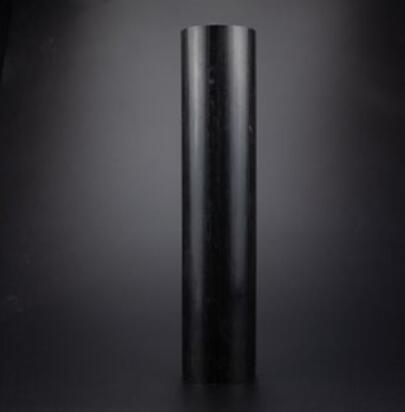 De Polioximetileno POM negro, amortiguador sólido poliacetal, barra redonda de plástico trabajable a máquina, longitud de 250mm-60mm, 1 Uds.