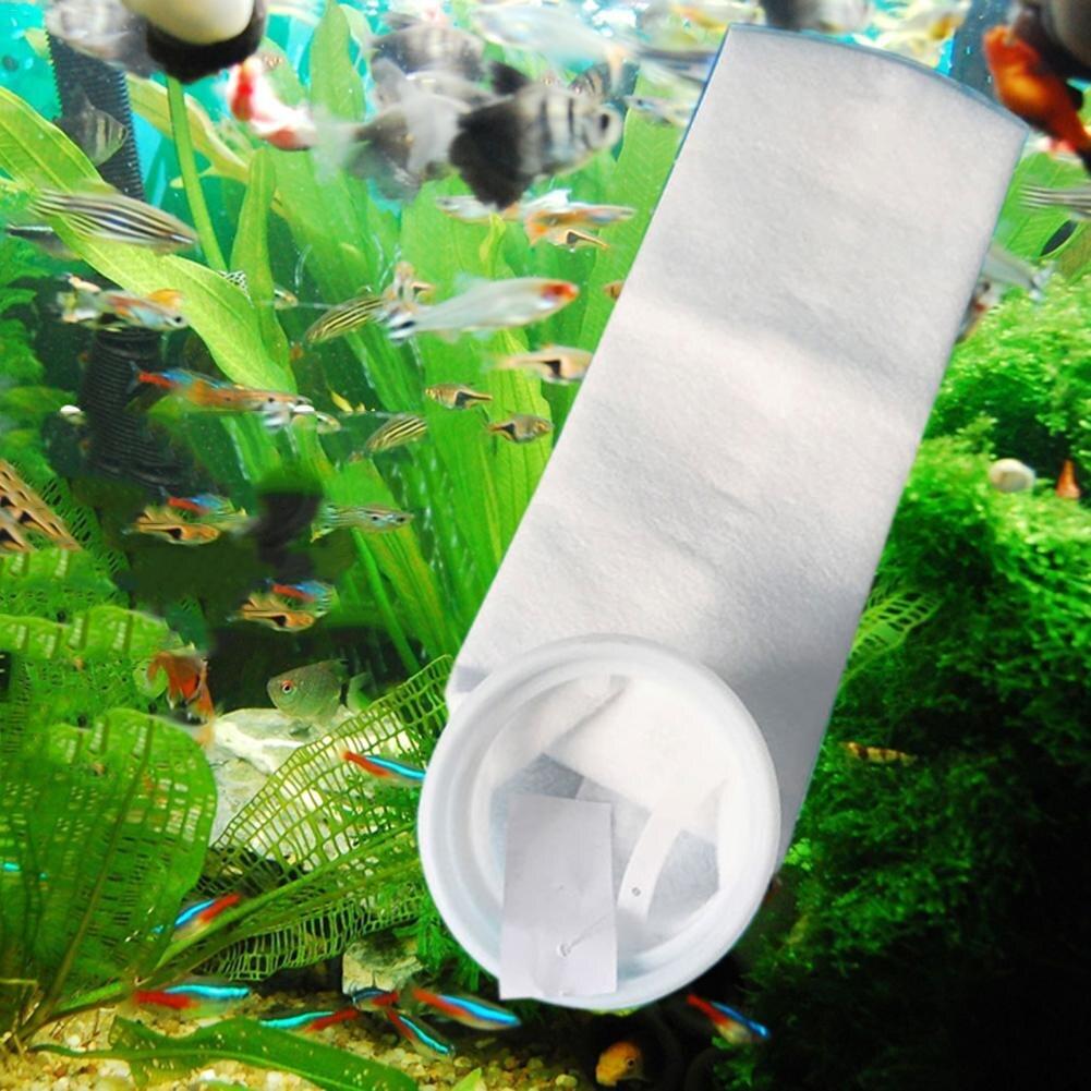 105*230MM 2018 nuevo PP bolsa de filtro de maricultura no tejida 100um 150um 200um Limpieza de tanques de peces Dropshipping