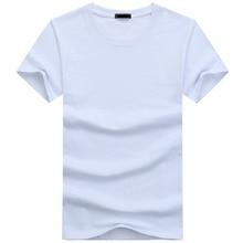 2019 High Quality Fashion Mens T Shirts Casual Short Sleeve T-shirt Mens Solid Casual Cotton Tee Shirt Summer Clothing 5XL