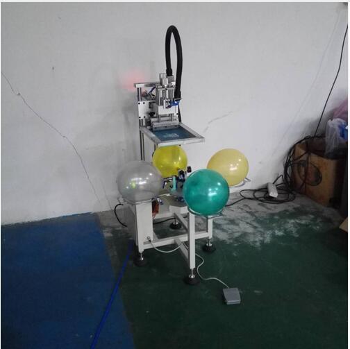 Nueva impresión de globos de látex, cinta transportadora, impresora de pantalla/impresora de globos