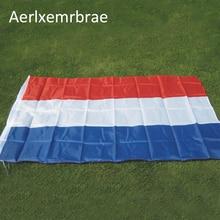 Free Shipping  aerlxemrbrae flag   Netherlands Flag 90*150cm   Polyester Dutch National Banner