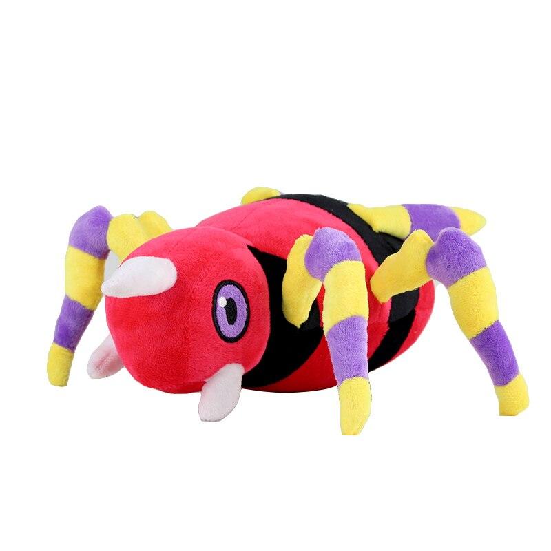 30 cm Ariados juguetes de peluche suave Animal araña personaje muñeca para el mejor regalo de bebé