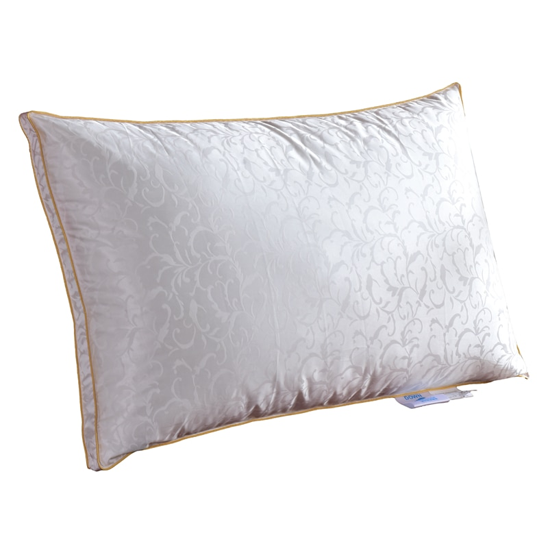 TUTUBIRD Goose Down Pillow/Head Sleeping Bedding Pillow Filling with Silk+Cotton Cover European/USA/Russian Size Free shipping