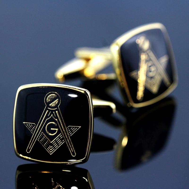 Mancuernillas clásicas MeMolissa, gemelos cuadrados clásicos de oro con personalidad negra, gemelos para camisa de hombre, regalos para hombres