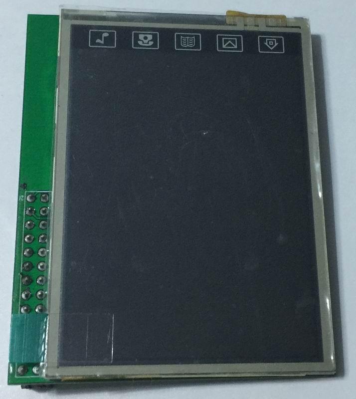 Raspberrypi 2,8 pulgadas SSD1289 con panel táctil ht2046 SPI pantalla TFT LCD pantalla