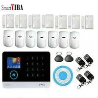 SmartYIBA-Smartphone commande APP WIFI   Systeme dalarme  Signal GPRS  securite domestique  alarme GSM sans fil SMS  Itanlian polonais  voix