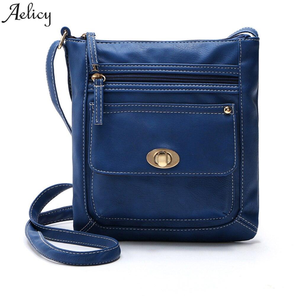 Aelicy drop ship  new 2020 hot selling Womens Leather Satchel CrossBody Shoulder Messenger Bag luxury handbags bolsa feminina