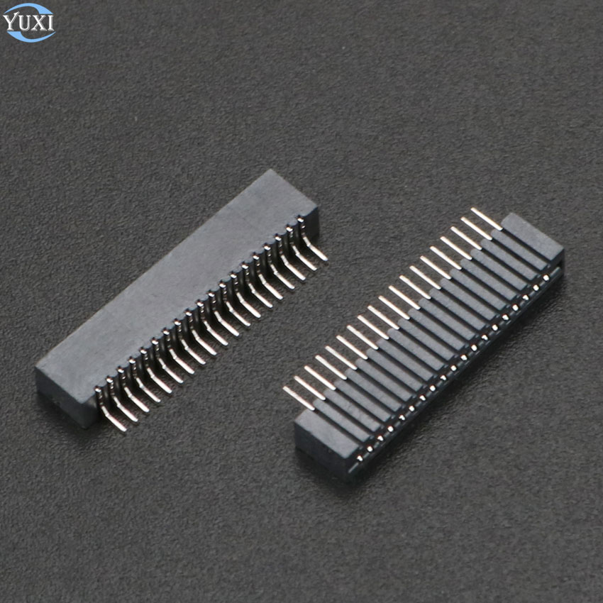 YuXi 2 uds para Playstation 2 PS2 cinta cable Flex conductivo película conector hembra 18pin 19pin bloque