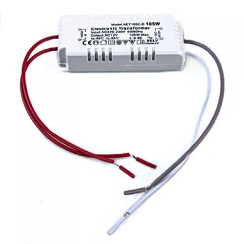Transformador electrónico de luz halógena útil 105W 12V 220 V-240 V