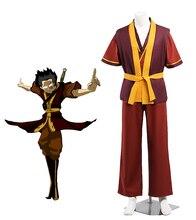 Costume de Cosplay Avatar Zuko fait sur commande nimporte quelle taille