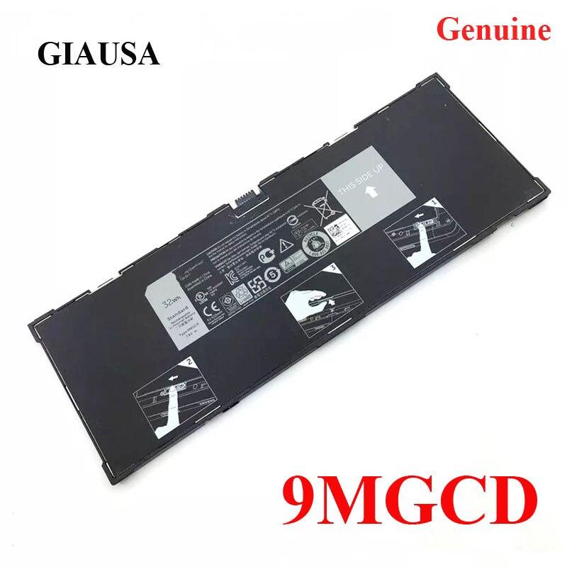 Аккумулятор для ноутбука GIAUSA 9MGCD для Dell Venue 11 Pro 5130 Tablet PC 2ICP4/77/103 XMFY3 VYP88 7,4 V 32WH