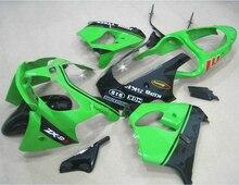 Fit For Kawasaki Ninja fairings Zx9r 2003 2002 02 03 ( Green ) Racing Fairing kit +free EMS xl74