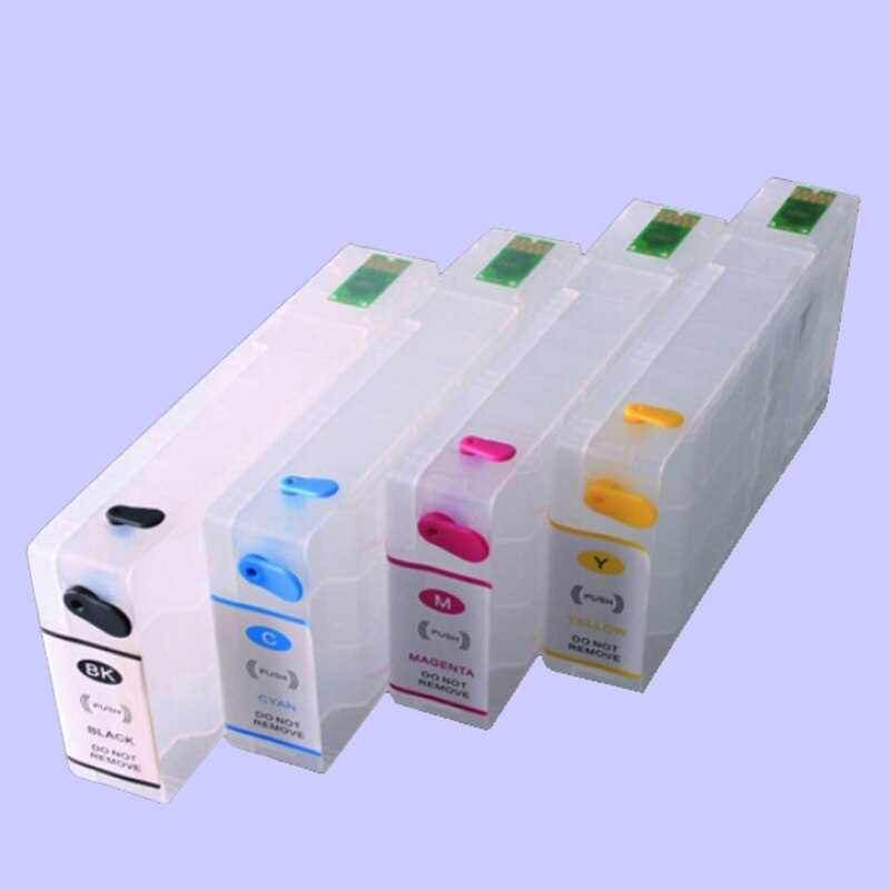 Vilaxh t7891 cartucho de tinta recarregável para epson t7891-t7894 workforce pro WF-5110DW WF-5190DW WF-5620DWF WF-5690DWF com chip