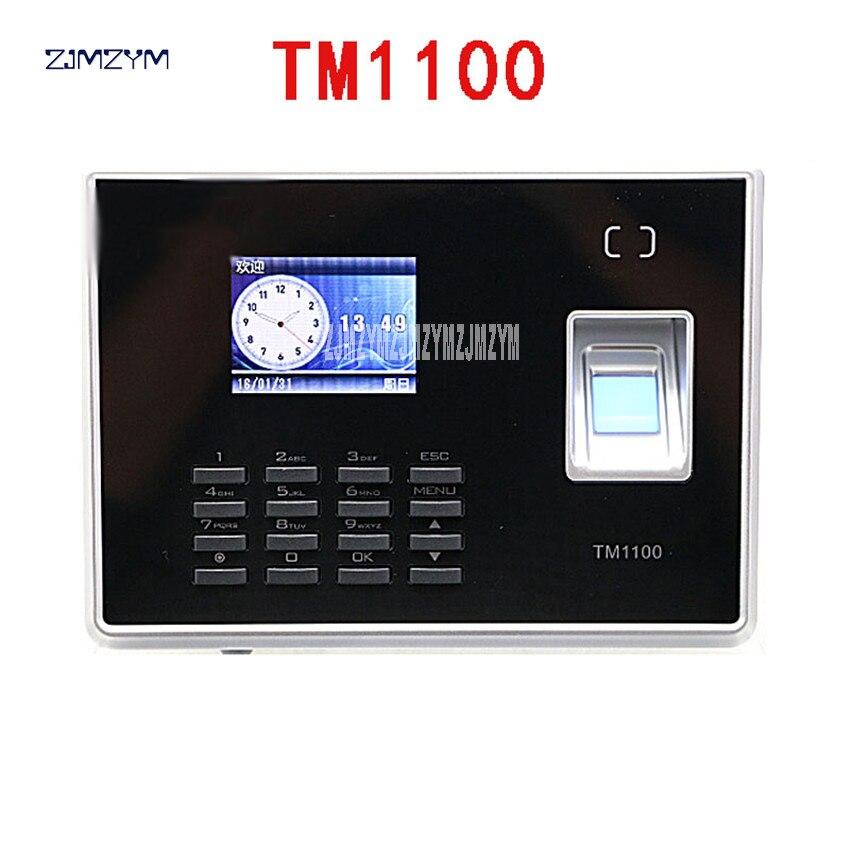 عرض ساخن نظام إدارة وقت وحضور الطالب البصمة البيومترية TM1100 2.4 بوصة TFT لون شاشة LCD 5 فولت