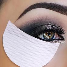 20 teile/satz 50 teile/satz Make-Up Lidschatten Aufkleber Lidschatten Wimpern Extention Pfropfen Transfer Unter Wimpern Papier Isolation Band