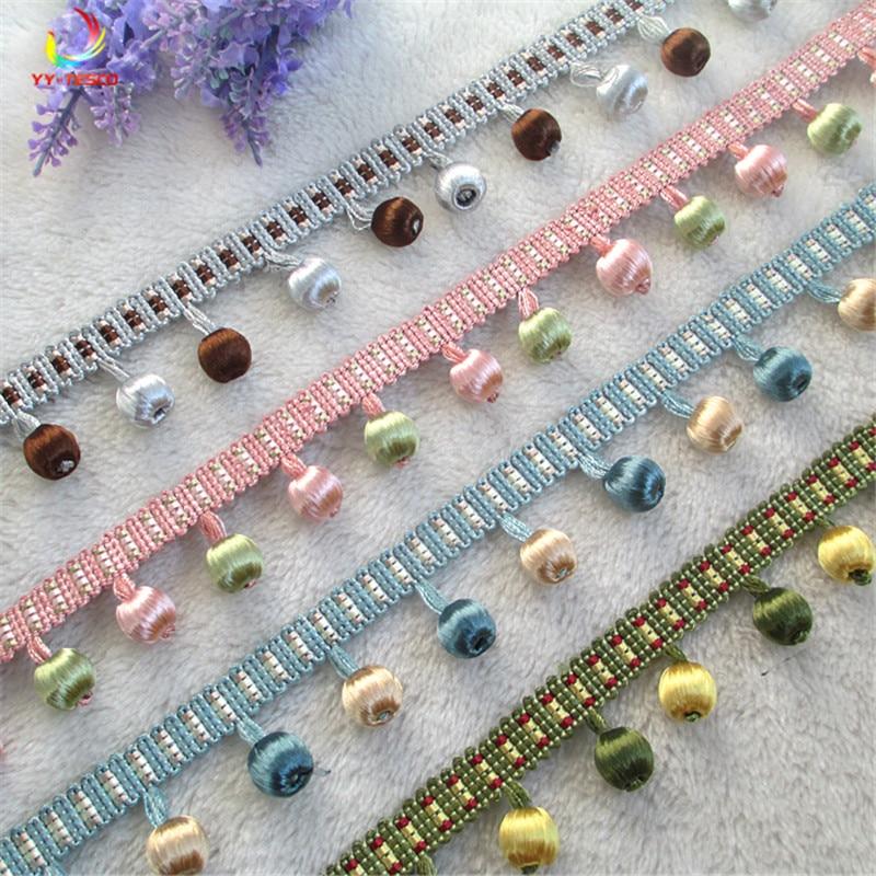 10 Yard/Lot Vorhang Laciness Quaste Fringe Dekoration Hochzeit Anwendung Vorhänge Sofa, Tisch tuch, DIY Bett Zubehör