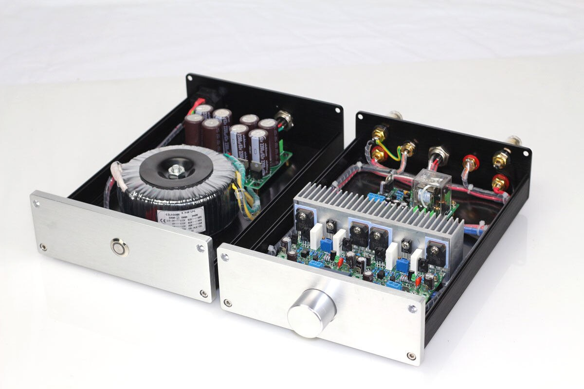 ZEROZONE HIFI Split NAP250 MOD amplificateur de puissance stéréo 80 W + 80 W ampli de bureau + PSU L8-8