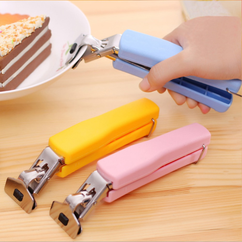 Kitchen Gadgets Multi-function Stainless Steel Clip Chucks Take Bowl Clips Anti-scalding Anti-skid Bowls For Tools