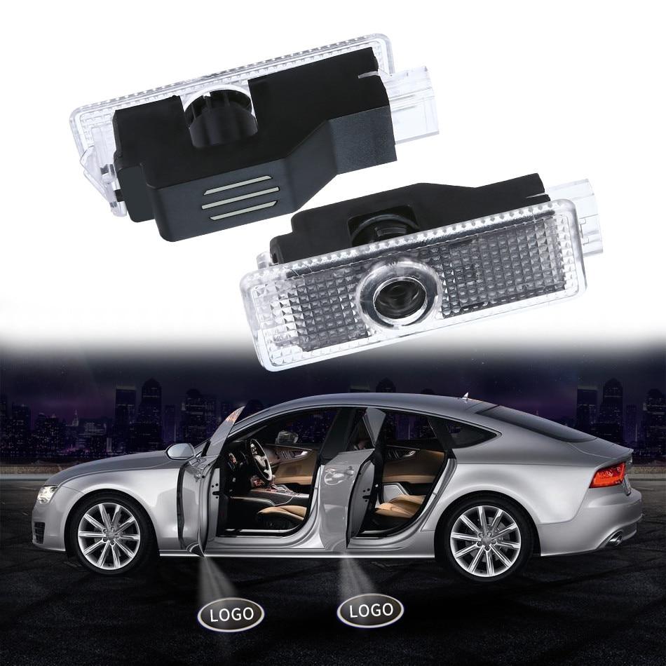 Auto Bienvenido luz puerta proyección Led lámpara láser para BMW E90 E91 E92 E93 M3 E60 E61 F10 F07 M5 E63 E64 F12 bombilla de voltaje 12V